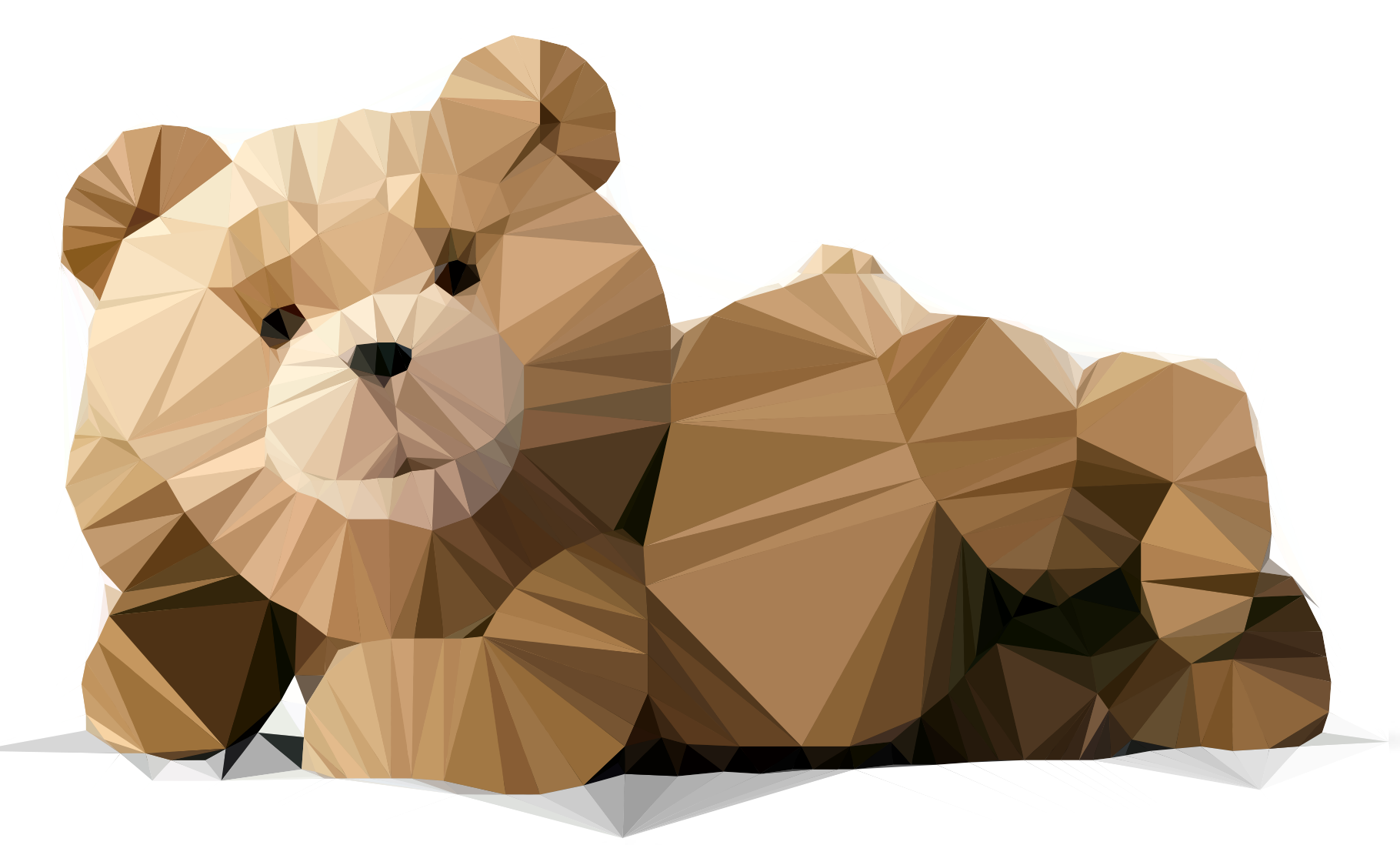 Ted Bear - Low Poly