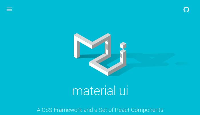 Material UI CSS Framework