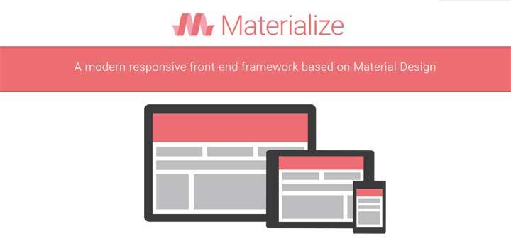 Materialize CSS Framework