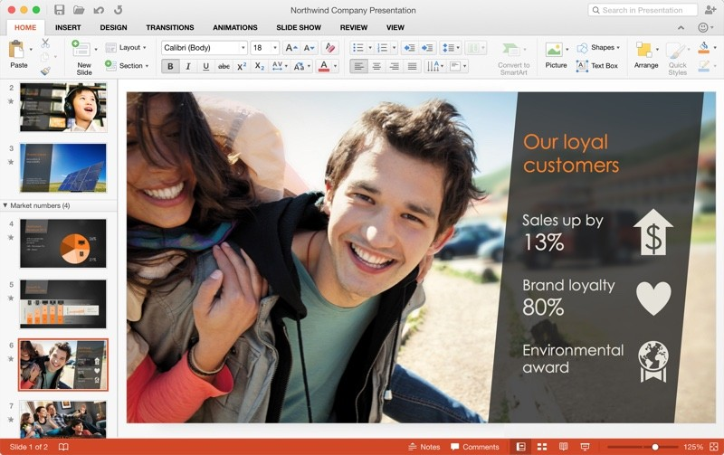 PowerPoint for Mac 2016